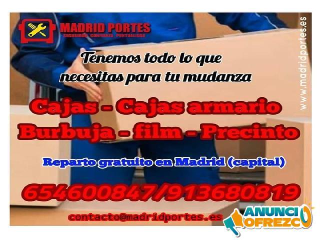 MUDANZAS EN MADRID CENTRO (LATINA-RETIRO)