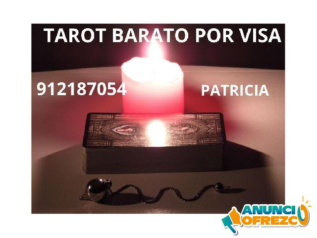 TAROT BARATO POR VISA.  PATRICIA