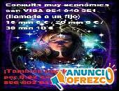 Tarot y videncia con una experta, visa barata 5€/15 min