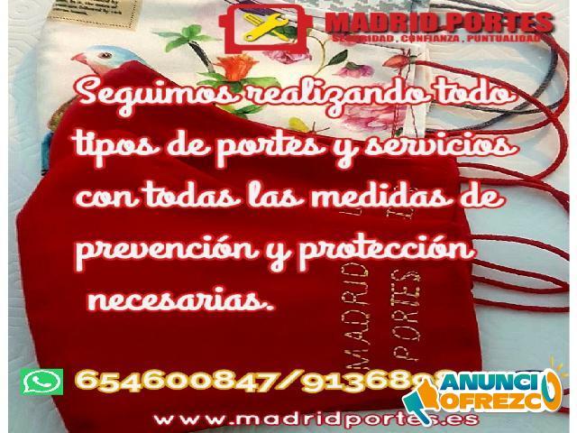 SERVICIO DE MUDANZAS +DESCUENTOS MADRID
