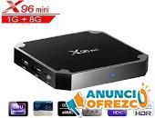 TV BOX X96 MINI CON TODA TELEVISION DE PAGO GRATIS DEPORTES,PELICULAS,SERIES 2