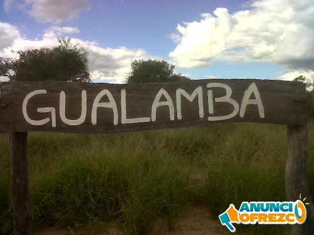 VENTA ESTANCIA GUALAMBA EL CHACO ARGENTINA.