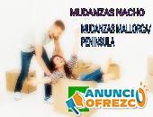 MUDANZAS COMPARTIDAS MALLORCA /PENÍNSULA