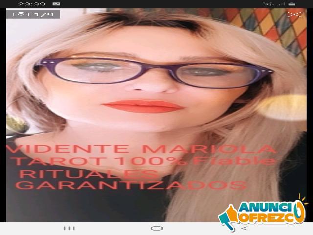MARIOLA VIDENTE TAROTISTA RITUALES GARANTIZADOS