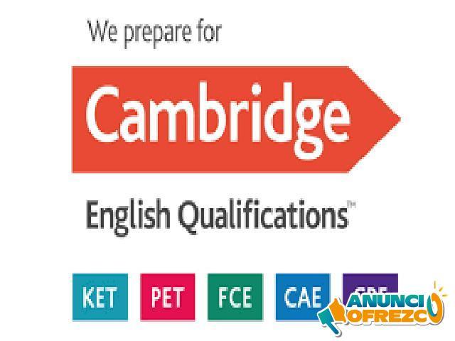 Exámenes Cambridge a €10 la hora!!