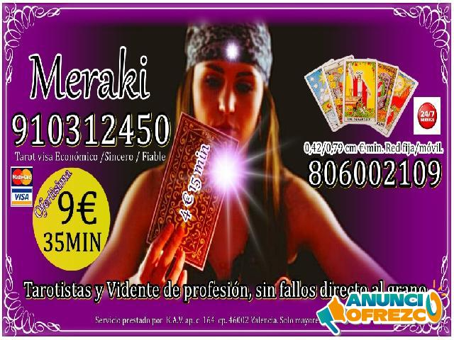HOROSCOPO TAROT VIDENCIA 15MIN 4 EUR 910312450