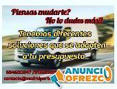 SERVICIOS: MUDANZAS Y PORTES BARATOS MADRID CENTRO