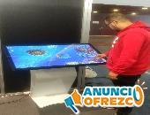 Venda de pantalla tàctil interactiva de 32 polzades amb APP