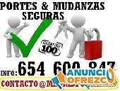 Mudanzas de Febrero Madrid Portes