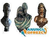 Bustos y esculturas personalizadas