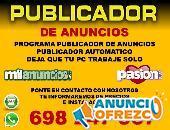 PUBLICADOR DE ANUNCIOS DE FORMA AUTOMATICA PROGRAMA
