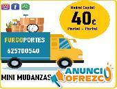 desde 40€……. Portes Económicos Carabanchel (625700)- 540