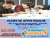 Clases de Apoyo Escolar, Primaria, ESO, Bachillerato