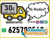 Portes Madrid + Mudanzas Baratas