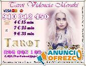 Tarot VISA Económico: Vidente y tarot barato fiable Visa 4€/15min 910312450-806002109