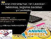 Curso presencial de Nóminas, Seguros Sociales y Contratos