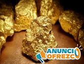 Vendemos grandes cantidades de lingotes de oro y polvo de oro.