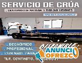 Servicio de grúa Traslado de vehículos