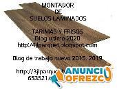 instalador de suelos de maderas laminados