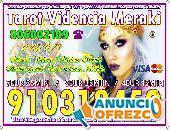 Tarot VISA Económico/ Vidente / tarot barato fiable Visa 4€/15min 910312450-806002109