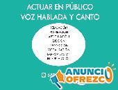 ONLINE-CLASES: DESARROLLO DE VOZ Y CANTO