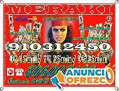 PROMOCIÓN TAROT A 4 EUROS LOS 15 MINUTOS 910312450 LAS 24 HORAS