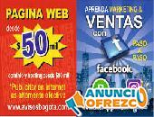Paginas Web Económicas Para Tu Negocio Desde $50.000